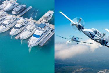 sector nautico y de aviación