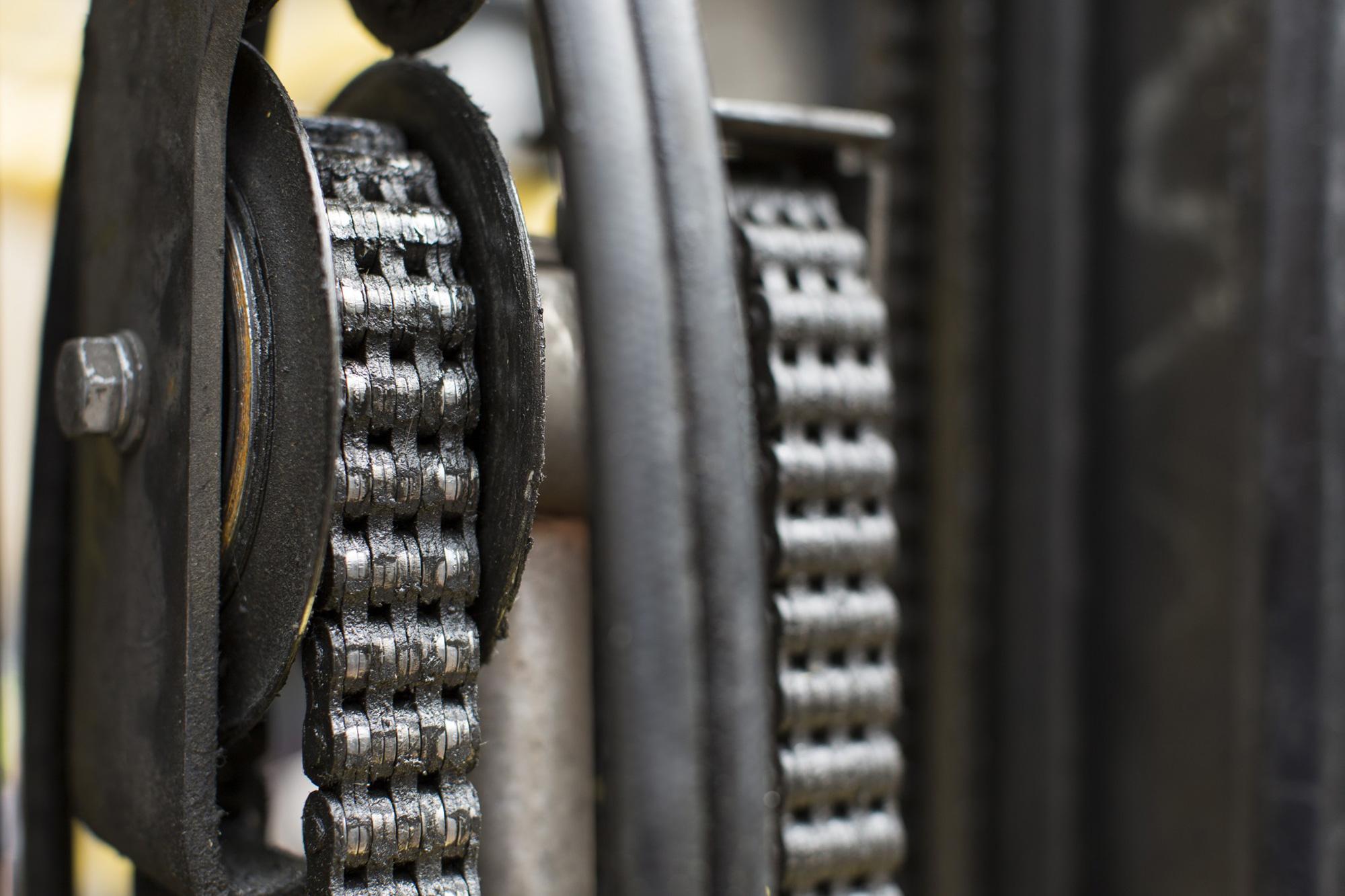 Sistemas de lubricación utilizados en cadenas